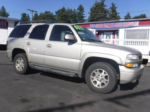 2005 Chevrolet Tahoe for sale at 777 Auto Sales and Service in Tacoma WA