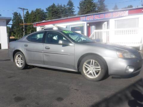 2007 Pontiac Grand Prix for sale at 777 Auto Sales and Service in Tacoma WA