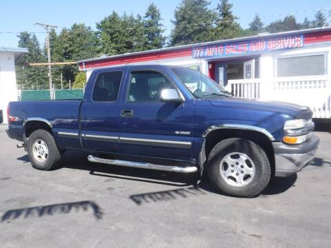 2000 Chevrolet Silverado 1500 for sale at 777 Auto Sales and Service in Tacoma WA