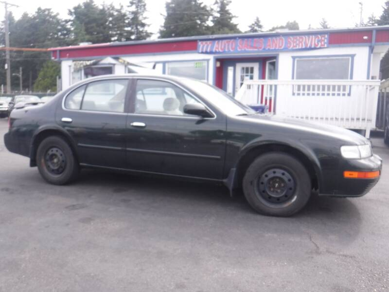 1996 Nissan Maxima for sale at 777 Auto Sales and Service in Tacoma WA
