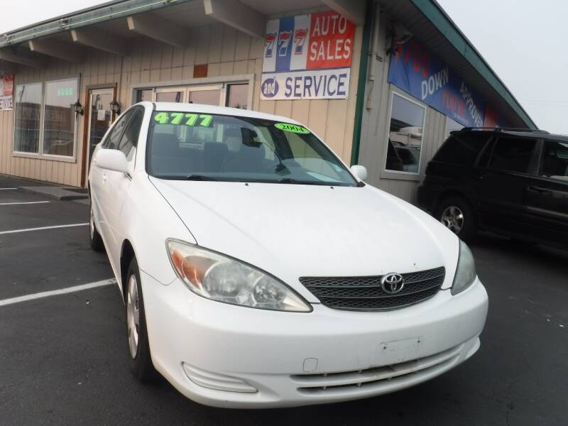 2004 Toyota Camry for sale at 777 Auto Sales and Service in Tacoma WA