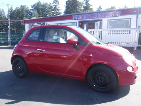 2012 FIAT 500c for sale at 777 Auto Sales and Service in Tacoma WA