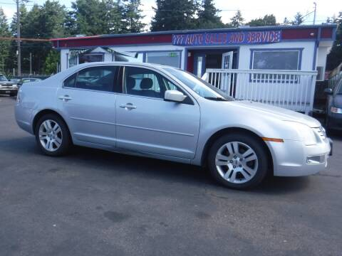 2006 Ford Fusion for sale at 777 Auto Sales and Service in Tacoma WA