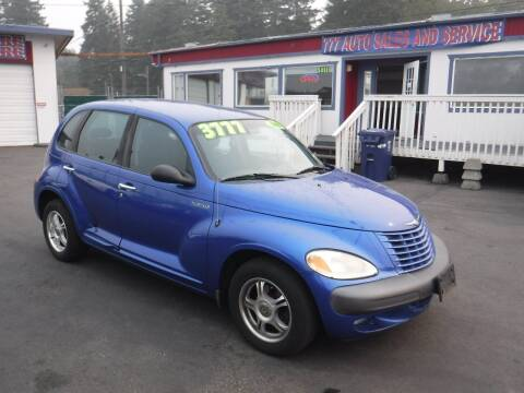 2003 Chrysler PT Cruiser for sale at 777 Auto Sales and Service in Tacoma WA