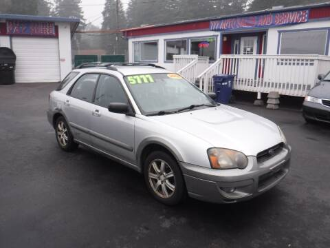 2005 Subaru Impreza for sale at 777 Auto Sales and Service in Tacoma WA