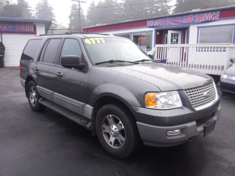 2003 Ford Expedition for sale at 777 Auto Sales and Service in Tacoma WA