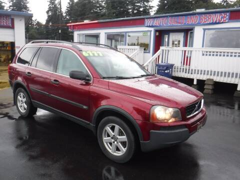 2005 Volvo XC90 for sale at 777 Auto Sales and Service in Tacoma WA