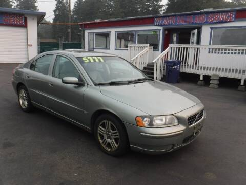 2005 Volvo S60 for sale at 777 Auto Sales and Service in Tacoma WA