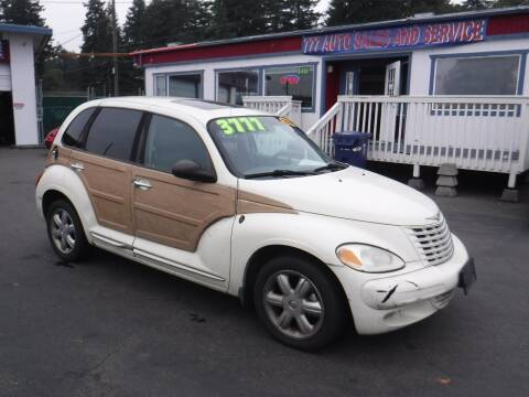 2004 Chrysler PT Cruiser for sale at 777 Auto Sales and Service in Tacoma WA