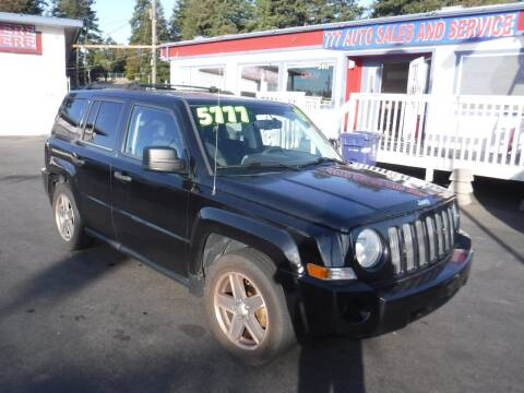2008 Jeep Patriot for sale at 777 Auto Sales and Service in Tacoma WA