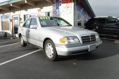 1995 Mercedes-Benz C-Class for sale at 777 Auto Sales and Service in Tacoma WA