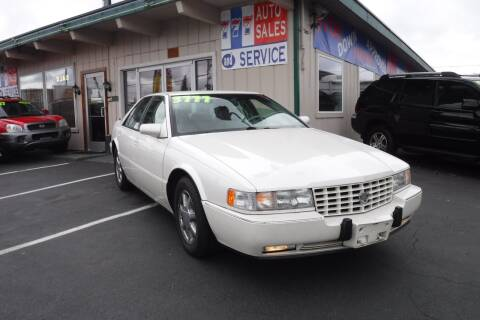 1997 Cadillac Seville for sale at 777 Auto Sales and Service in Tacoma WA