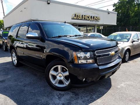 2007 Chevrolet Tahoe for sale at J.G. Hollins Motors in Houston TX