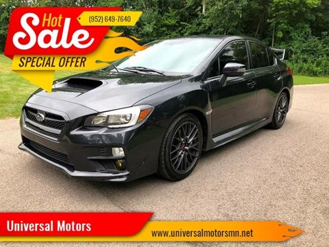 2015 Subaru WRX for sale at Universal Motors in Prior Lake MN