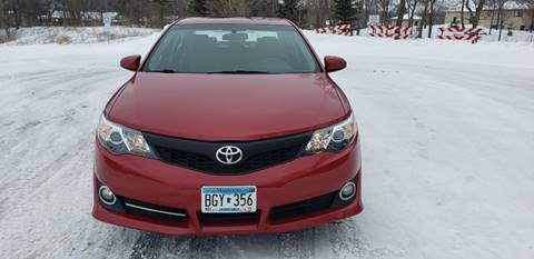 2012 Toyota Camry for sale at Universal Motors in Prior Lake MN