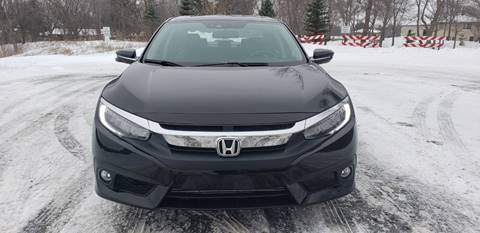 2016 Honda Civic for sale at Universal Motors in Prior Lake MN