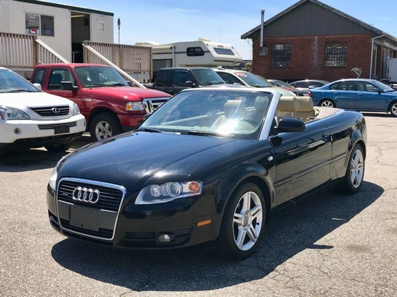 2007 Audi A4 for sale at CT Auto Center Sales in Milford CT