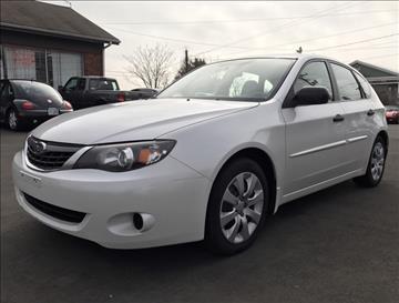 2008 Subaru Impreza for sale at CT Auto Center Sales in Milford CT