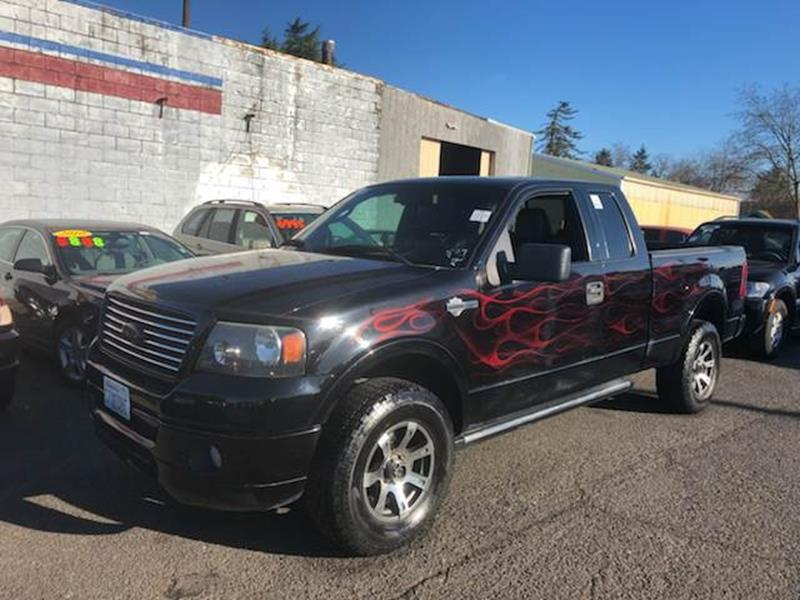 2006 ford f-150 harley-davidson 4dr supercab 4wd 6.5 ft. sb in happy