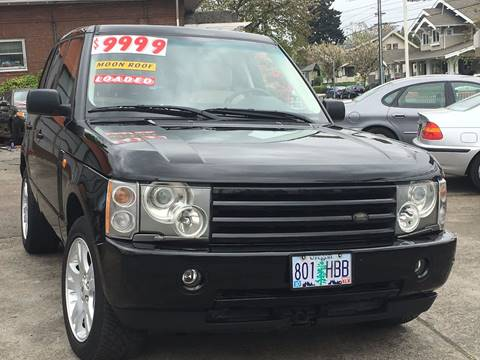 2003 Land Rover Range Rover for sale in Portland, OR
