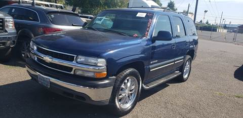 2001 Chevrolet Tahoe for sale in Happy Valley, OR