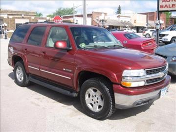 2003 Chevrolet Tahoe for sale in Edgerton, MN
