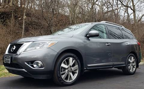 2015 Nissan Pathfinder for sale at The Motor Collection in Columbus OH