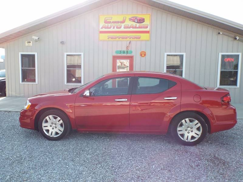 2013 Dodge Avenger SE 4dr Sedan - Morristown IN