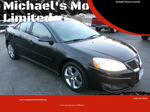 2010 Pontiac G6 for sale in Zanesville, OH