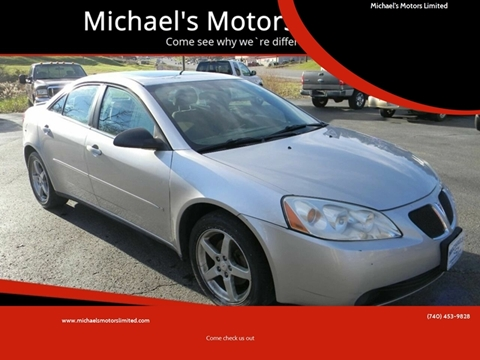 2007 Pontiac G6 for sale in Zanesville, OH