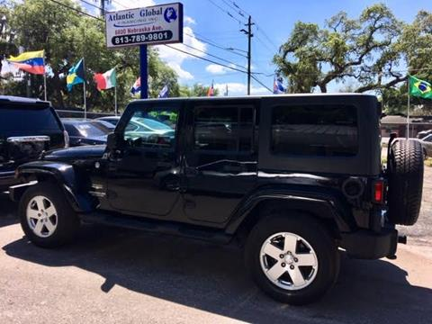 2012 Jeep Wrangler Unlimited for sale in Tampa, FL