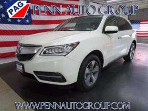2014 Acura MDX for sale in Allentown, PA
