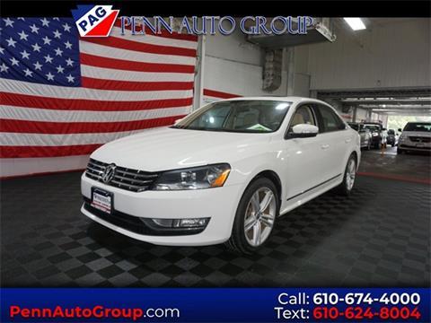 2013 Volkswagen Passat for sale in Allentown, PA