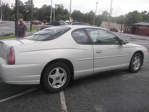2004 Chevrolet Monte Carlo for sale in Columbus, GA