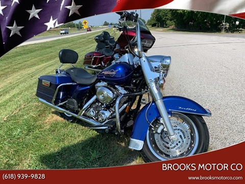 2007 HARLEY DAVIDSON FLHR for sale at Brooks Motor Company in Columbia IL
