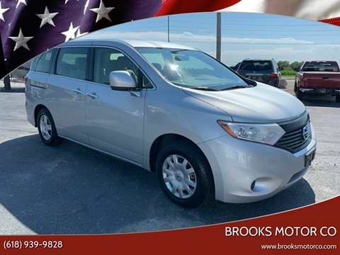 2013 Nissan Quest for sale at Brooks Motor Company in Columbia IL