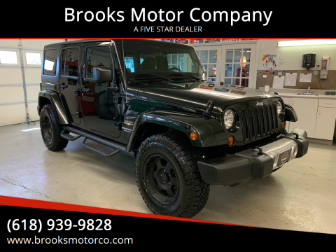 2012 Jeep Wrangler Unlimited for sale at Brooks Motor Company in Columbia IL