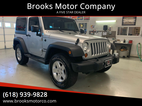 2012 Jeep Wrangler for sale at Brooks Motor Company in Columbia IL