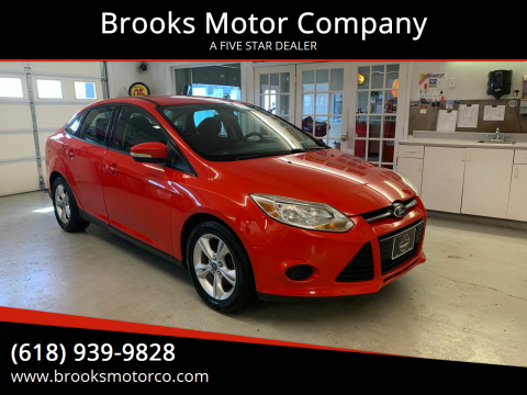 2013 Ford Focus for sale at Brooks Motor Company in Columbia IL