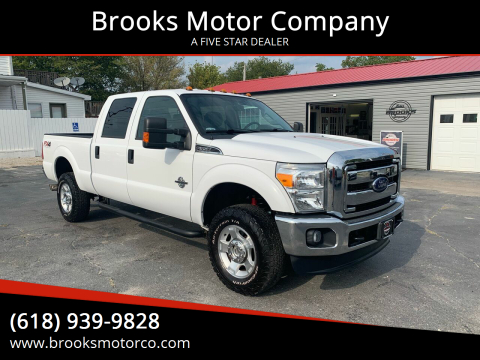 2015 Ford F-350 Super Duty for sale at Brooks Motor Company in Columbia IL