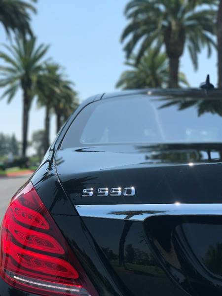 2014 Mercedes-Benz S-Class S 550 4dr Sedan - Orange CA