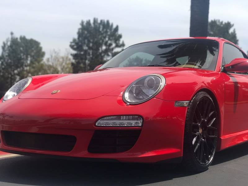 2009 Porsche 911 Carrera 2dr Coupe - Orange CA