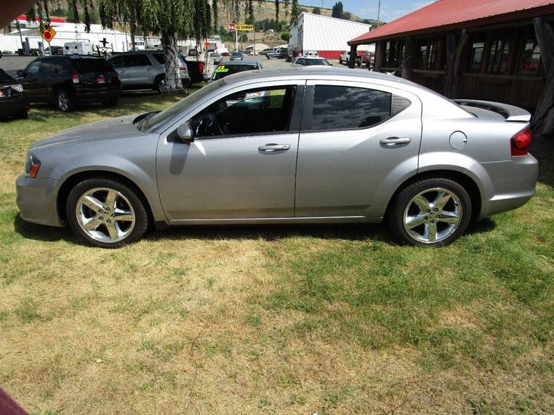 2013 Dodge Avenger for sale at Impact Auto Sales in Brewster WA
