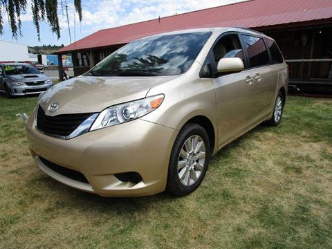 2011 Toyota Sienna for sale at Impact Auto Sales in Brewster WA