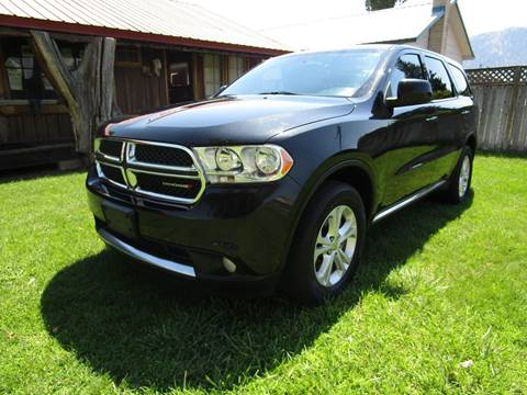2013 Dodge Durango for sale at Impact Auto Sales in Brewster WA