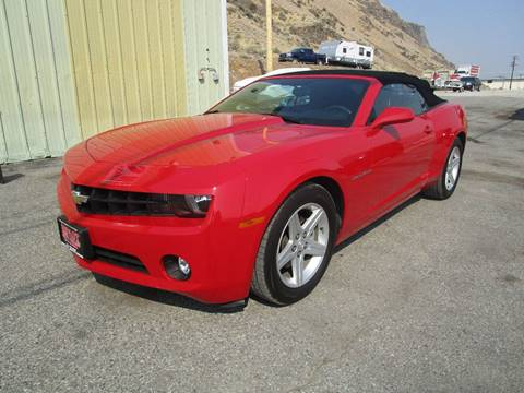 2011 Chevrolet Camaro for sale at Impact Auto Sales in Brewster WA