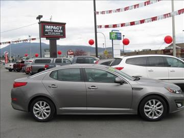 2015 Kia Optima for sale at Impact Auto Sales in Brewster WA