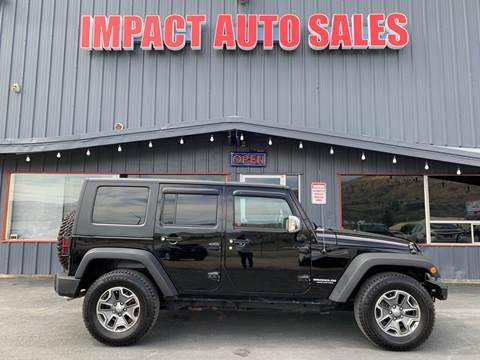 2010 Jeep Wrangler Unlimited For Sale In Wenatchee Wa