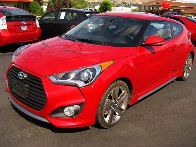 2013 Hyundai Veloster Turbo for sale at Impact Auto Sales in Brewster WA
