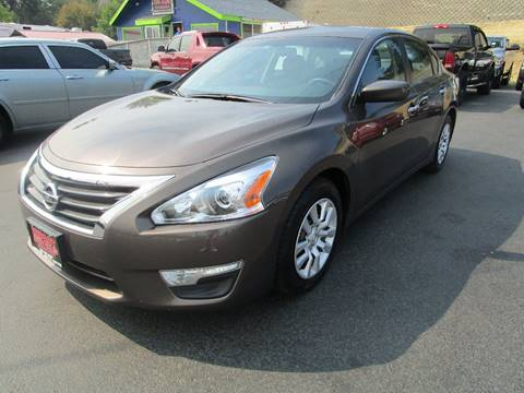2015 Nissan Altima for sale at Impact Auto Sales in Wenatchee WA